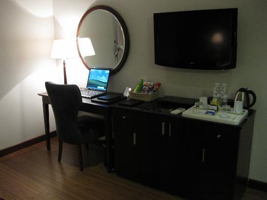 Essence Hanoi Hotel & Spa: ノートPCはフリー、日本語ページも問題なしです
