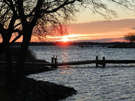 Harbourtowne Resort: A scenic sunrise