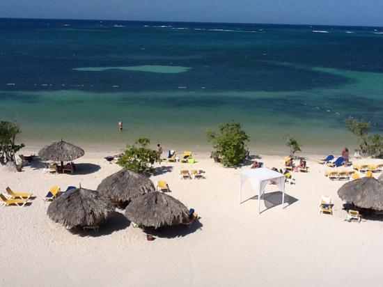 Iberostar Rose Hall Beach Hotel: view from my room