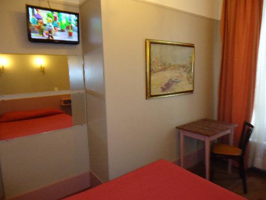 Hotel de Roubaix: Chambre