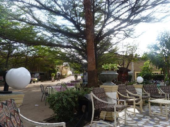 Arba Minch Tourist Hotel: jardin