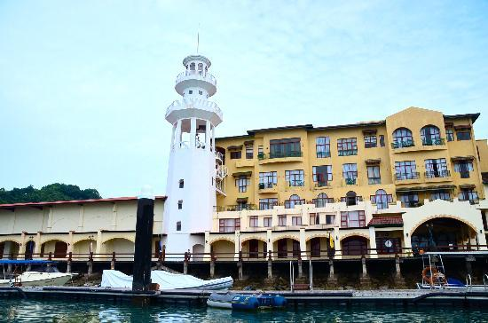 Langkawi Island Tours by Jet Ski: Starting point of our cruise - Jetty Point at Kuah, Malaysia
