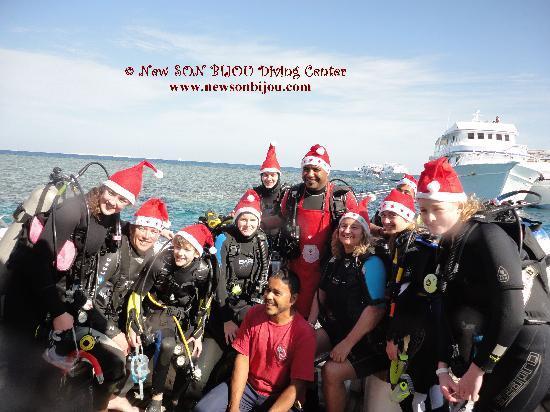 New Son Bijou Diving Center: Christmas dive 2011, we had tons of fun that day :) - www.newsonbijou.com -