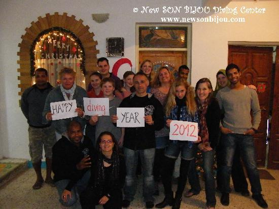 New Son Bijou Diving Center: Happy DIVING Year 2012 to everybody! - www.newsonbijou.com -