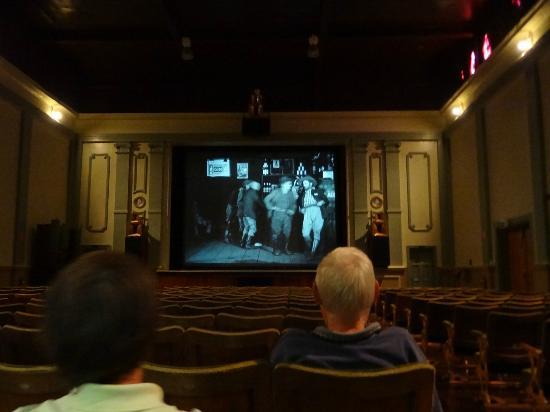 West Coast Heritage Centre, Zeehan: The Gaiety Theatre silent movies