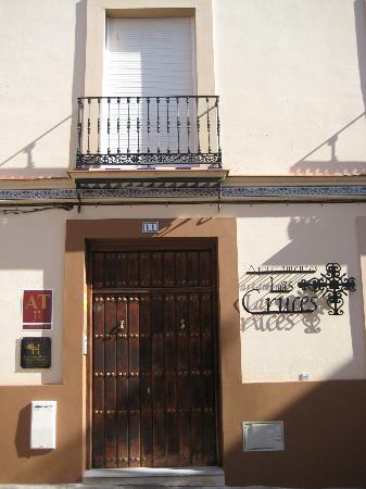 Apartamentos Las Cruces: The entrance