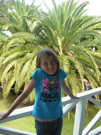 Scenic Hotel Bay of Islands: enjoying the deack