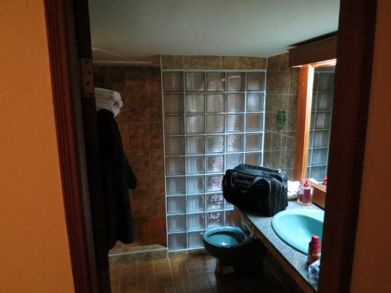 Bougainvillier Hotel: Modern, Clean Bathroom