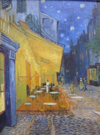 Kröller-Müller-Museum: Cafe Terrace at Night by van Gogh