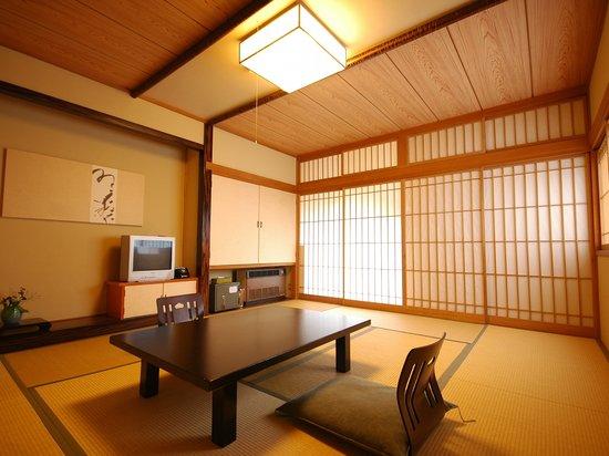 Shima Onsen Kashiwaya Ryokan: Guest room 客室の一例
