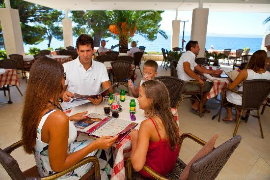 Aparthotel Tamaris : restaurant