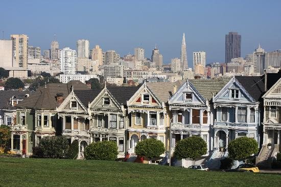 painted ladies san francisco picture of painted ladies san francisco tripadvisor. Black Bedroom Furniture Sets. Home Design Ideas