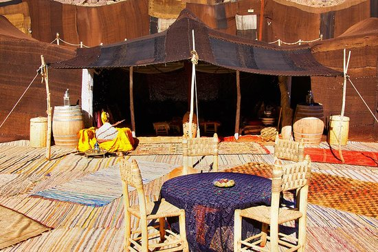 Ouednoujoum Ecolodge: Terrasse...