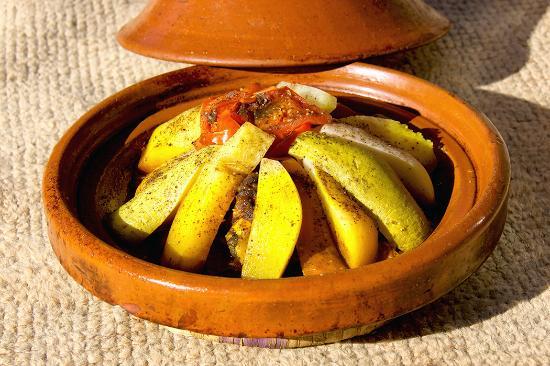 Ouednoujoum Ecolodge: Parmi les plats.. Tajine de Caprin