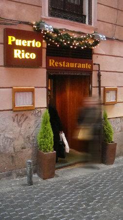 Restaurante Puerto Rico : Entrance / Entrada