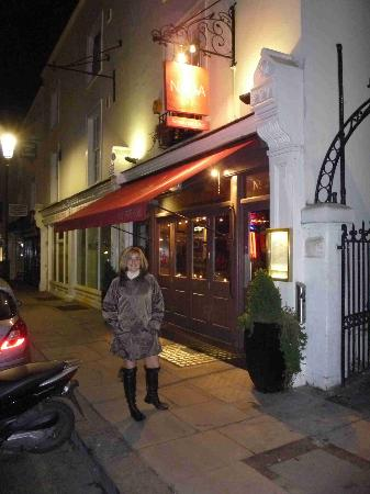 Naga Restaurant & Bar: at the entrance