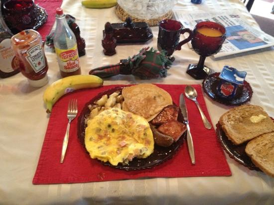 Olde Judge Mansion: a breakfast of champion !!!