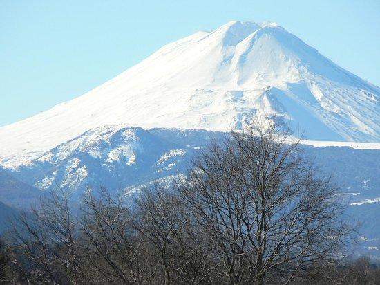 Villarrica, Chili : volcan Lonquimay