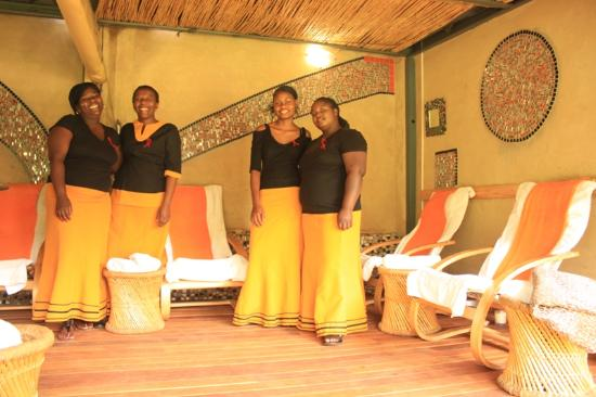 Vusalela Day Spa: the therapists