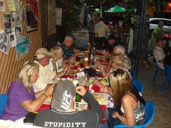 Britannia Pub & Grill: Visitors