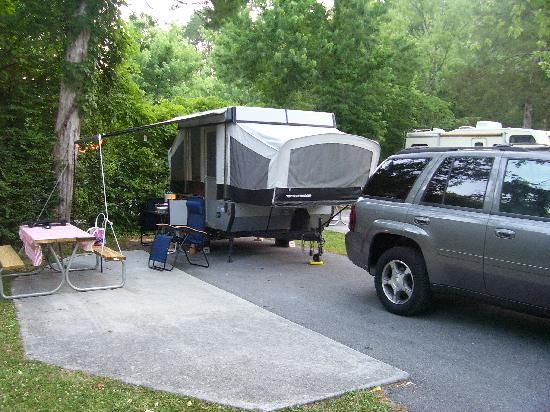 Foothills RV Park & Cabins : Our Site