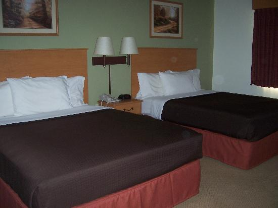 AmericInn Lodge & Suites Belle Fourche: Two Queen bed room with new style!
