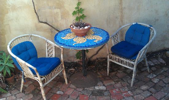 The Painted Fish : Outdoor area