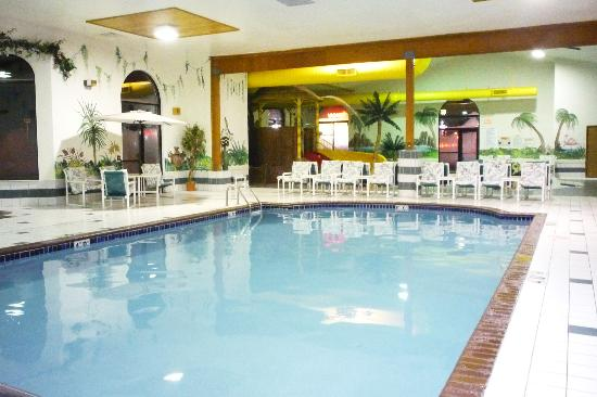 Alakai Hotel and Suites: The adult pool shares a space with the kiddie pool.