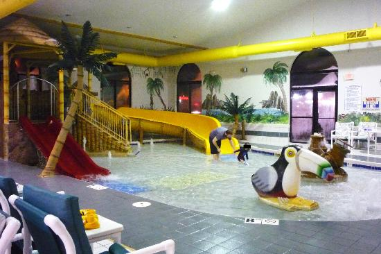 Alakai Hotel and Suites : The kiddie pool was a perfect size for toddlers.