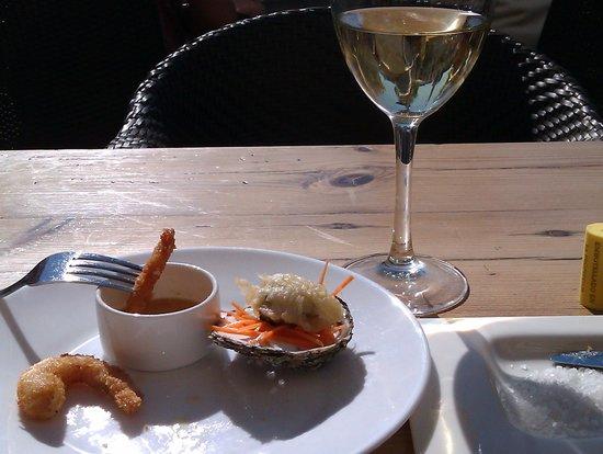 La Plaza: A prawn course