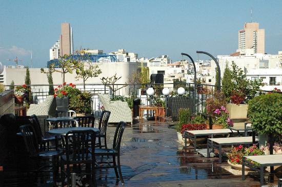 Center Chic Hotel Tel Aviv - an Atlas Boutique Hotel: dakterras