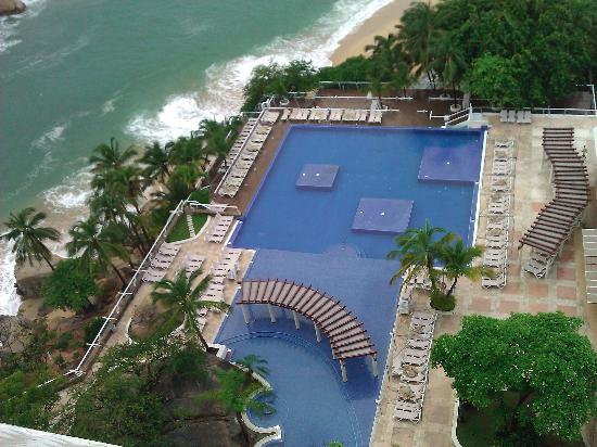 Fiesta Americana Villas Acapulco: Vista a la alberca