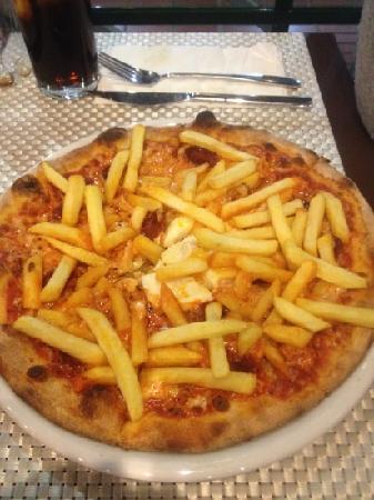 Pizzeria Toscana: vaya pizza española lo buena. que está