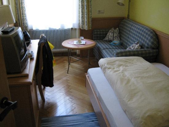 Hotel Lebzelter : Одноместный номер
