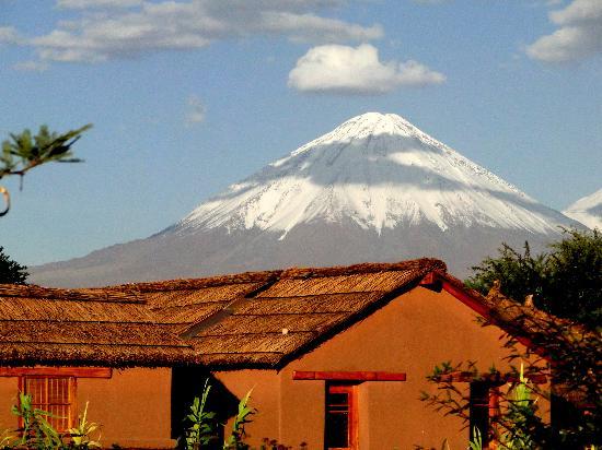 Altiplanico Atacama: Quartos com o Licancabur ao fundo