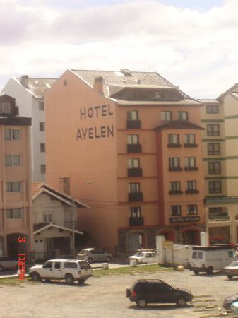 Hotel Ayelen: Hotel de frente