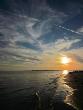 Fort De Soto Park: Sunset at Fort De Soto