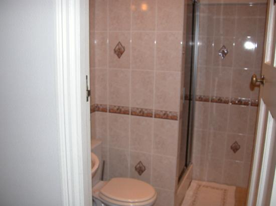 Bexhill Bed and Breakfast: Private bathroom for single room five