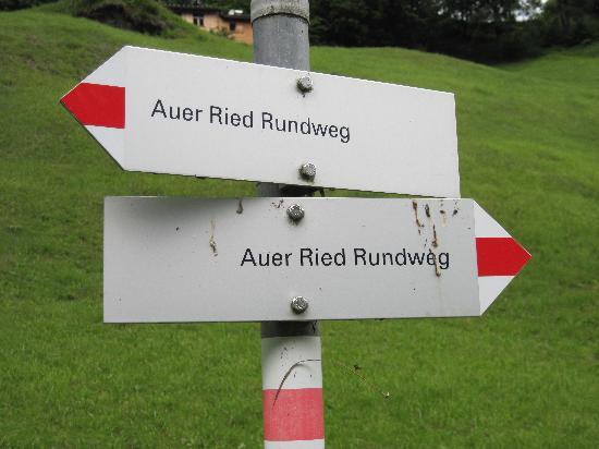 Bregenzerwald Cheese Road: Verschiedene Richtungen