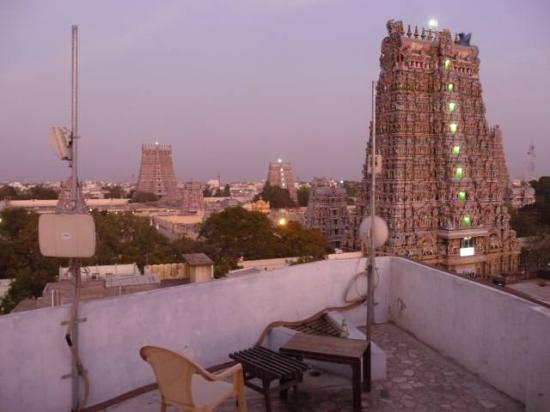 Hotel Sree Devi: at the rooftop