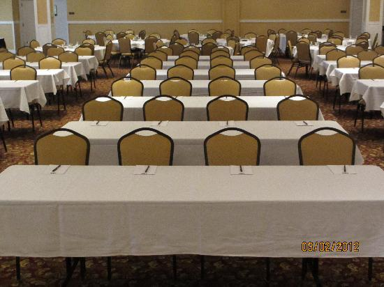 Town & Country Inn and Suites Quincy: Our Conference room is bright and airy