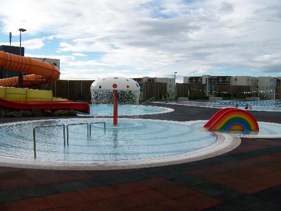 Lagafellslaug in Mosfellsbaer: The pool for children