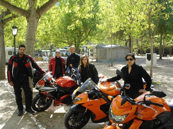 Camping Rio Mundo: Moteros de La Roda (Albacete)