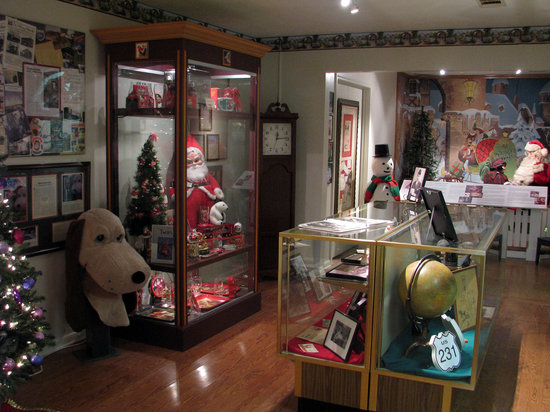 Santa Claus, IN: The museum displays several different