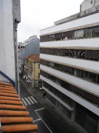 Hotel America: Rue (vers le bas)