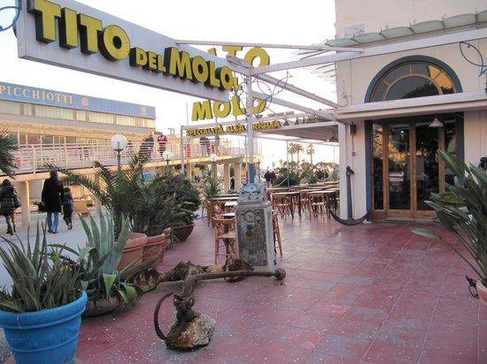 Tito Del Molo Viareggio Menu Prices Restaurant Reviews