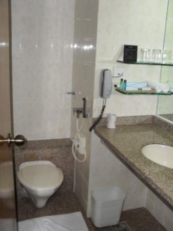 Hotel Kohinoor Continental: Bathroom - Basic, but clean