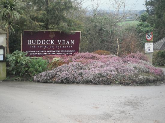 Budock Vean Hotel: Entrance to the Hotel
