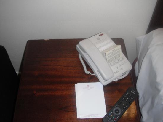 Budock Vean Hotel: Telephone table