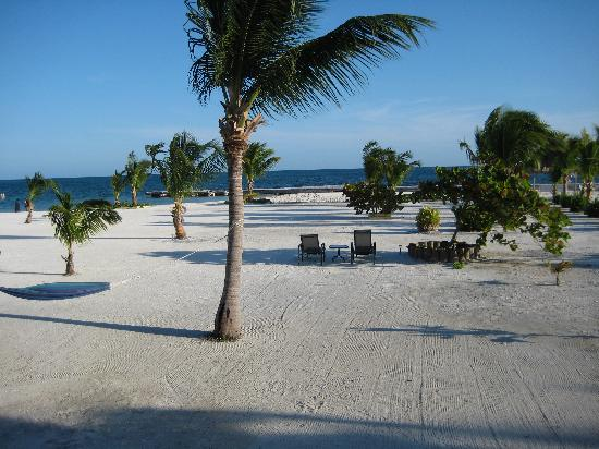 Turneffe Island Resort: View from the cabana porch